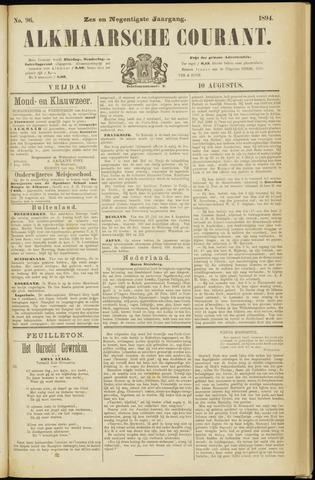 Alkmaarsche Courant 1894-08-10