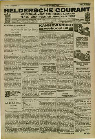 Heldersche Courant 1930-08-16