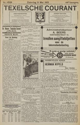Texelsche Courant 1931-05-09