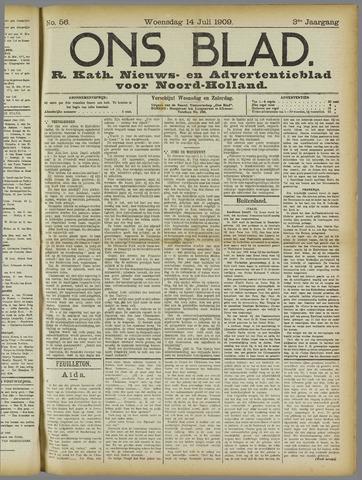 Ons Blad : katholiek nieuwsblad voor N-H 1909-07-14