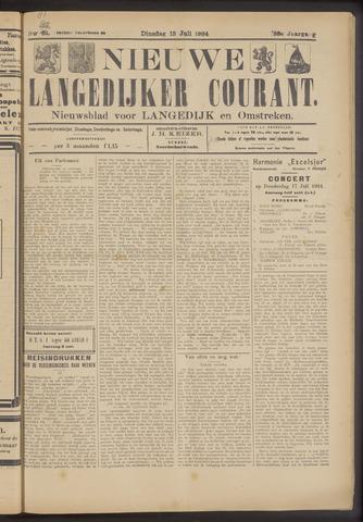 Nieuwe Langedijker Courant 1924-07-15