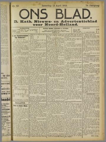 Ons Blad : katholiek nieuwsblad voor N-H 1913-05-12