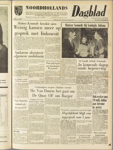 Noordhollands Dagblad : dagblad voor Alkmaar en omgeving 1962-02-26