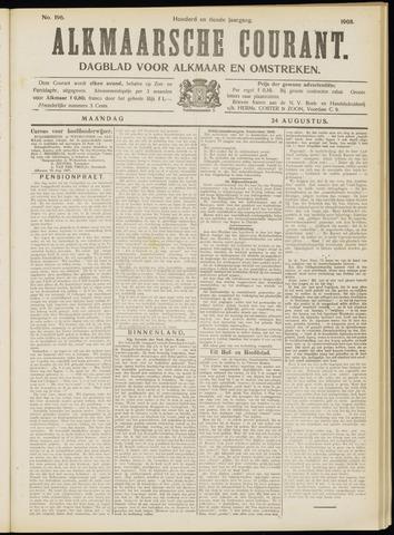 Alkmaarsche Courant 1908-08-24