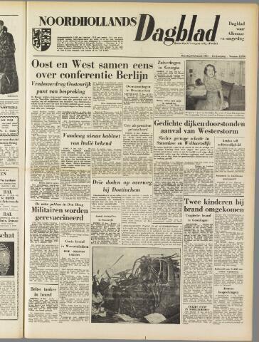Noordhollands Dagblad : dagblad voor Alkmaar en omgeving 1954-01-18