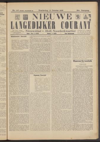 Nieuwe Langedijker Courant 1929-10-24