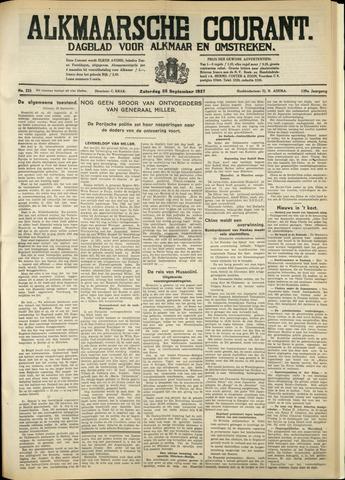 Alkmaarsche Courant 1937-09-25
