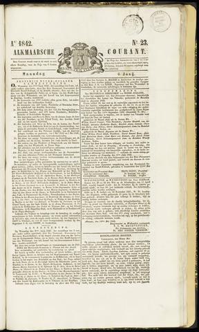 Alkmaarsche Courant 1842-06-06
