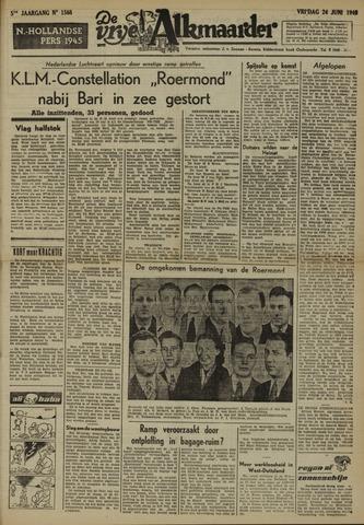 De Vrije Alkmaarder 1949-06-24