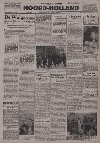 Dagblad Noord-Holland, Schager editie 1942-09-03