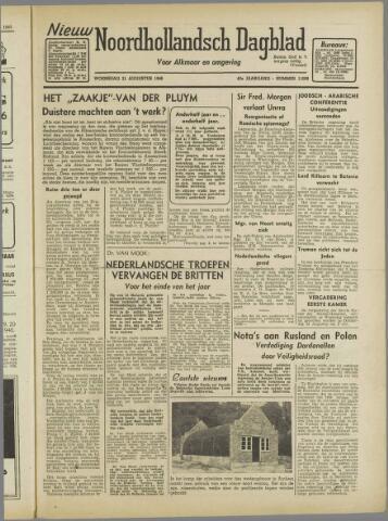Nieuw Noordhollandsch Dagblad : voor Alkmaar en omgeving 1946-08-21