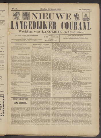 Nieuwe Langedijker Courant 1895-03-31