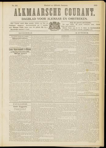 Alkmaarsche Courant 1913-10-16