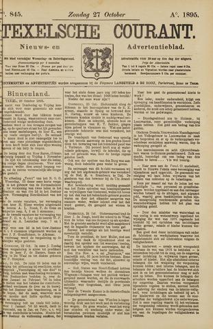 Texelsche Courant 1895-10-27