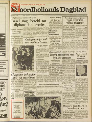 Noordhollands Dagblad : dagblad voor Alkmaar en omgeving 1967-05-29