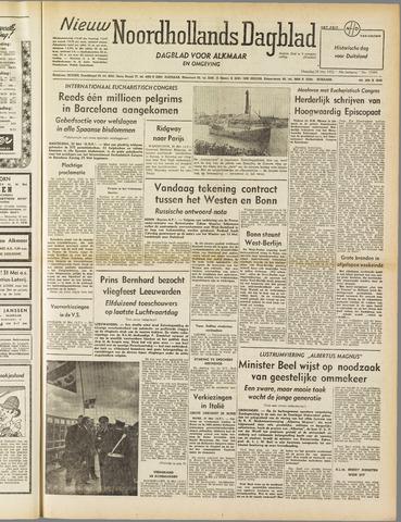 Nieuw Noordhollandsch Dagblad : voor Alkmaar en omgeving 1952-05-26