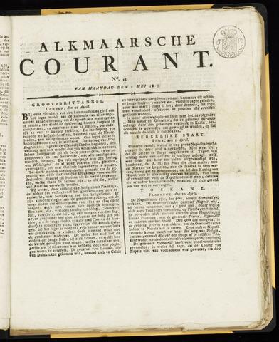 Alkmaarsche Courant 1815-05-01