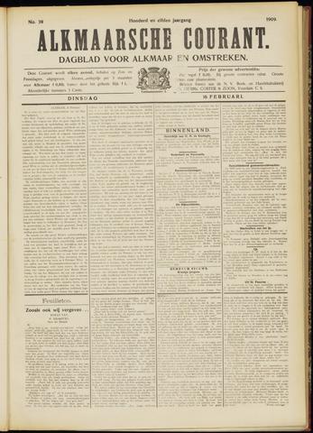 Alkmaarsche Courant 1909-02-16