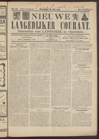 Nieuwe Langedijker Courant 1925-05-20