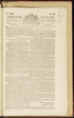 Alkmaarsche Courant 1846-04-06
