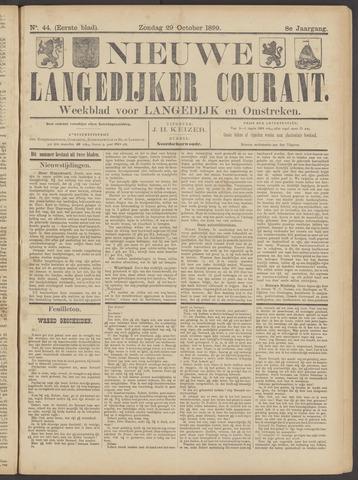 Nieuwe Langedijker Courant 1899-10-29