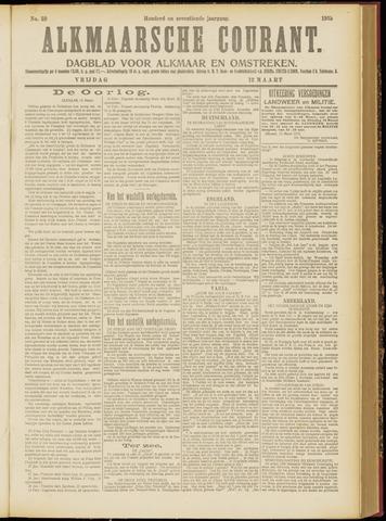 Alkmaarsche Courant 1915-03-12