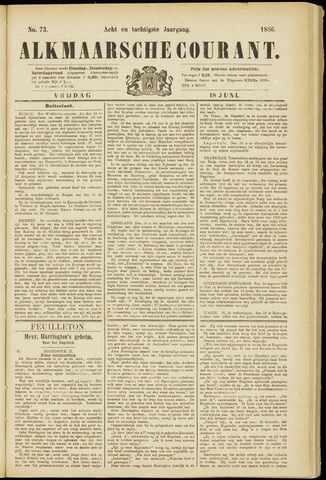 Alkmaarsche Courant 1886-06-18
