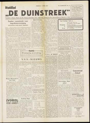 De Duinstreek 1955-04-01
