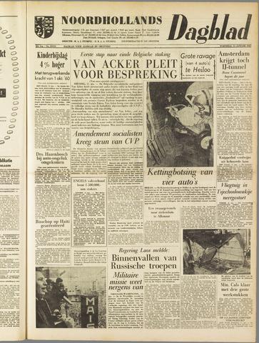 Noordhollands Dagblad : dagblad voor Alkmaar en omgeving 1961-01-11