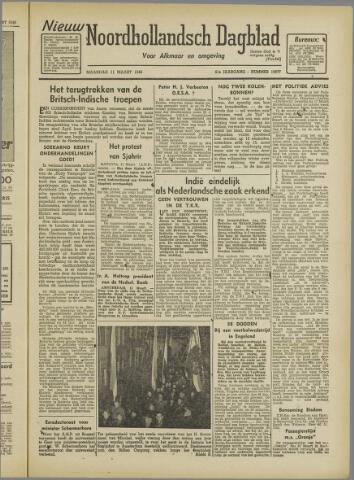 Nieuw Noordhollandsch Dagblad : voor Alkmaar en omgeving 1946-03-11
