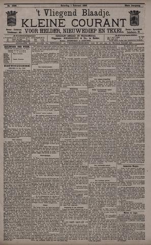 Vliegend blaadje : nieuws- en advertentiebode voor Den Helder 1896-02-01