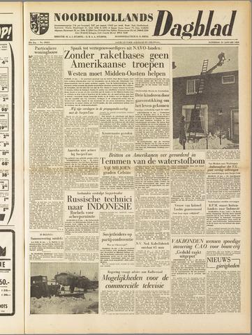 Noordhollands Dagblad : dagblad voor Alkmaar en omgeving 1958-01-25