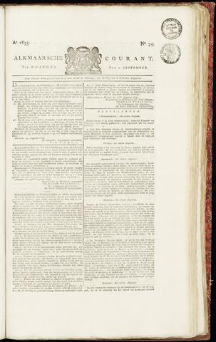 Alkmaarsche Courant 1833-09-02
