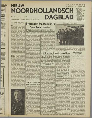 Nieuw Noordhollandsch Dagblad : voor Alkmaar en omgeving 1945-11-13