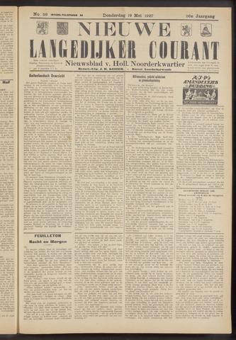 Nieuwe Langedijker Courant 1927-05-19