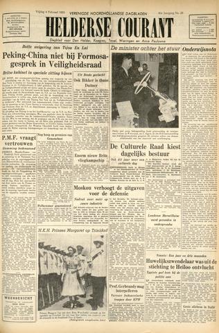 Heldersche Courant 1955-02-04