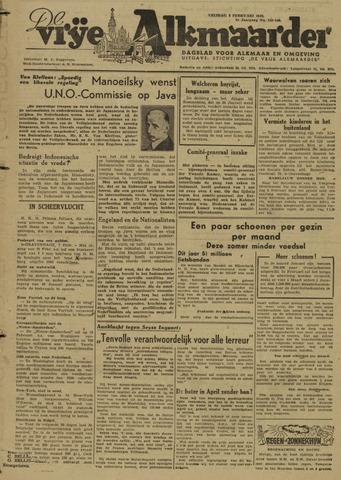 De Vrije Alkmaarder 1946-02-08