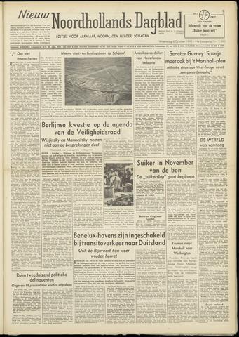 Nieuw Noordhollandsch Dagblad : voor Alkmaar en omgeving 1948-10-06