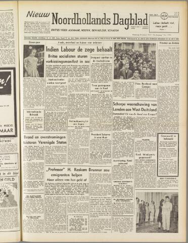 Nieuw Noordhollandsch Dagblad : voor Alkmaar en omgeving 1950-01-18