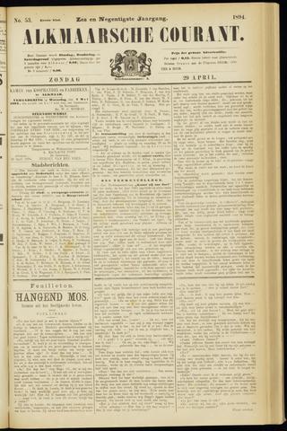 Alkmaarsche Courant 1894-04-29