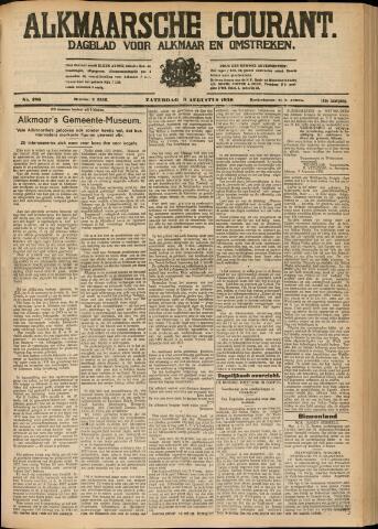 Alkmaarsche Courant 1930-08-09