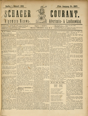 Schager Courant 1893