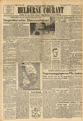 Heldersche Courant 1950-09-29