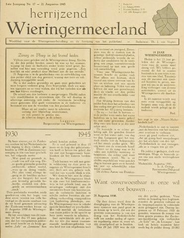 Herrijzend Wieringermeerland 1945-08-21