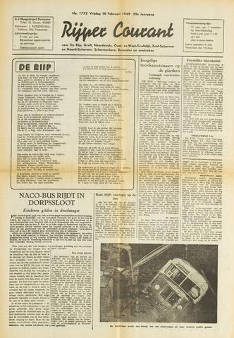 Rijper Courant 1949-02-18