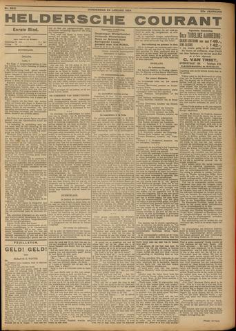 Heldersche Courant 1924-01-24