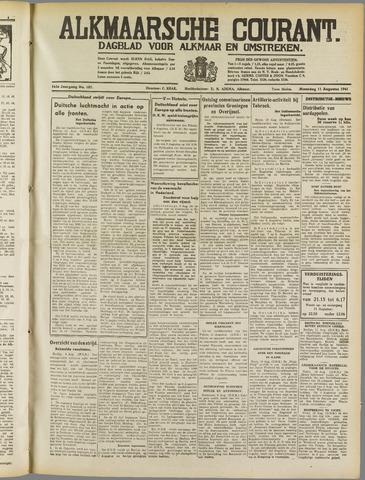 Alkmaarsche Courant 1941-08-11