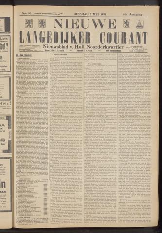 Nieuwe Langedijker Courant 1931-05-05