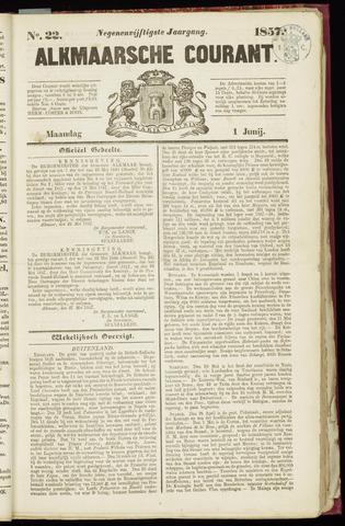 Alkmaarsche Courant 1857-06-01