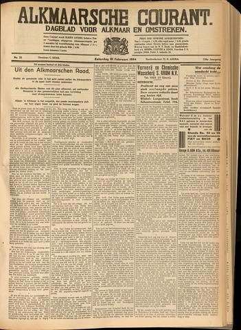Alkmaarsche Courant 1934-02-10
